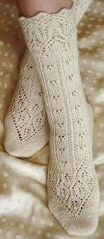 Sock Knitting Pattern Fascinating Lingerie Sock Knitty First Fall 48