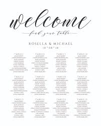 Seating Chart Wedding Sign Wedding Seating Chart Sign Digital File Design Scs 16