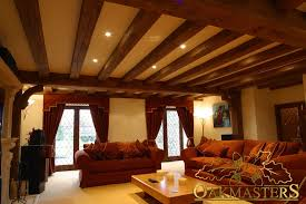 lighting for beamed ceilings. Oak Beam Layout With Sunken Spot Lights - 164728 (4824) Lighting For Beamed Ceilings T