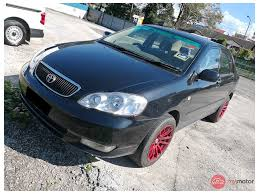 2003 Toyota Corolla Altis for sale in Malaysia for RM18,500 | MyMotor