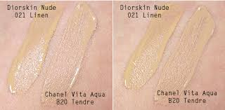 Review Diorskin Nude Fresh Glow Hydrating Makeup Foundation