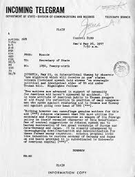 truman library elbridge durbrow to george marshall  elbridge durbrow to george marshall 26 1947 j m jones papers subject file correspondence re transfer of material used by jm jones in the writing