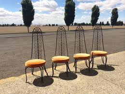 Iron Table And Chairs Set Patio Furniture Etsy