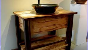 bamboo cabinets depot sink bathroom diy and combo inch only without gorgeous makeup vanity vessel drop