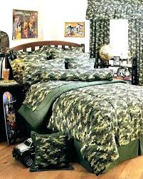 camouflage bedroom set bedding sets bed queen sheets realtree
