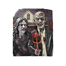 design toscano zombie gothic wall sculpture b53b0y