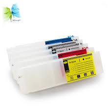 WINNERJET <b>1set</b> 1000ml 5 Colors Empty Refillable Ink Cartridge ...