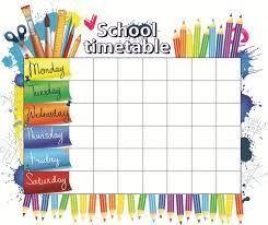 school schedule template 20 best school schedule ideas images on pinterest school schedule