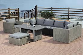 Waterford <b>8 Piece Garden Lounge</b> Set - Timber Kit Buildings