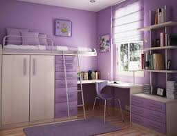 Purple And Cream Bedroom Bedroom Violet Modern Solid Wood Bunk Bed Cream Contemporary