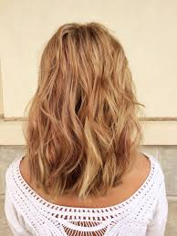 Golden Blonde Hair Color With Highlights