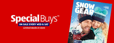 wednesday and saays are special at aldi