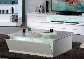 coffee table triplo round gloss swivel coffee table white white