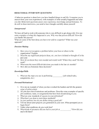 Last Interview Questions Behavioral Interview Questions