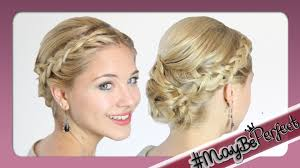 Haar Ideen Brautfrisur Mittellanges Haar Mittellanges Haar Youtube