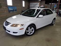 mazda 6 2004 white. 2004 mazda mazda6 i 4dr sports sedan villa park il 6 white