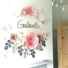 white flower wall art ceramic l decor creative home flowers set fl black blue wh
