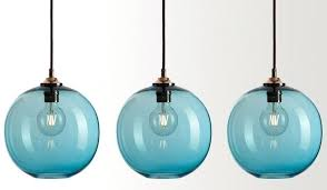 ceiling lights colorful ceiling light fabulous pendant lights easy pieces glass pertaining to blue plan