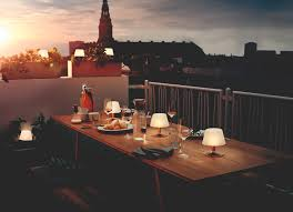 Tafellamp Tuinverlichting Op Zonne Energie Alumbro Eva Solo