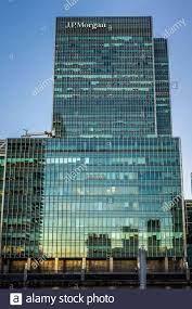 25 Bank Street Canary Wharf. JP Morgan Tower London - Europäische Zentrale  der Investmentbank JPMorgan Chase. J.P. Morgan EMEA-Hauptsitz  Stockfotografie - Alamy