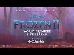 live at the frozen 2 world premiere