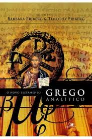 Resultado de imagem para novo testamento grego analítico pdf