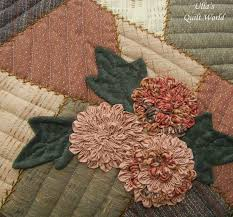 Ulla's Quilt World: Patchwork bag, flowers + pattern - quilt & A pattern for this quilt bag is in a Japanese Patchwork book: Adamdwight.com