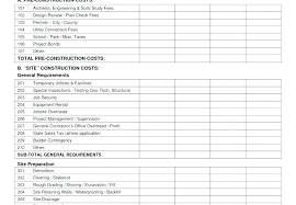 Commercial Construction Budget Template Commercial Construction Project Plan Vbhotels Co