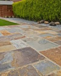 natural patio stones. Wonderful Natural Rustic Copper Slate Paving Patio Kit With Natural Stones U