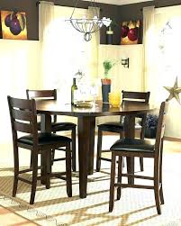 drop leaf dining table round