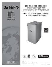 dunkirk q manuals dunkirk q90 150 installation operation maintenance manual