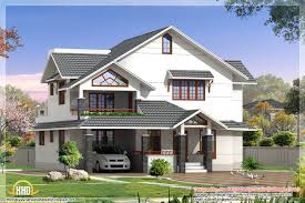 home design indian style d house elevations kerala home design