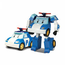 Игрушка-<b>трансформер SilverLit Poli Robocar</b>: Поли - купить в ...