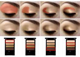 how to apply eye shadow properly great visual