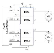 dc motor controller using pwm electronics information from MOS FET H-bridges Circuits h bridge circuit diagram for use with the raspberry pi gpio