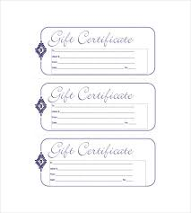 28 Best Of Gift Certificate Template Word Free