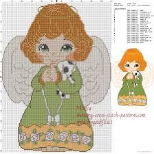 Angel Cross Stitch Patterns Amazing Little Angel Cross Stitch Pattern Free Cross Stitch Patterns