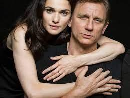 Rachel Weisz und Daniel Craig ...