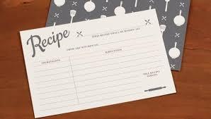 Recipe Card Templates Free 17 Recipe Card Templates Free Psd Word Pdf Eps Format