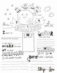 Be cautious of staring at the eclipse directly though, this can really damage your eyes. Solar Eclipse Coloring Page Skip To My Lou