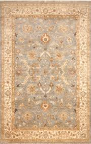 classic oriental blue ivory wool area rug margaret classic oriental blue