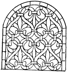 Stained Glass Free Coloring Pages On Art Coloring Pages