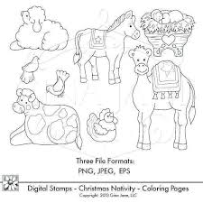 Best Nativity Coloring Pages Christmas Preschool 57 Super Coloring