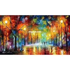 hand paint modern palette knife landscape oil painting on canvas wall art canvas high quality