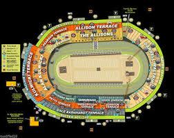 4 Tickets Bristol Motor Speedway Allison Terrance Nascar