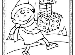 Elf Coloring Pages Printable Cute Elf Coloring Pages Elf Coloring