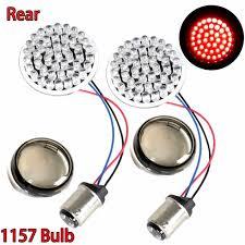 "Online Shop Rear <b>2</b>"" <b>Bullet</b> Style <b>1157 LED</b> Turn Signal Light ..."