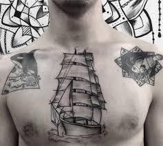 тату корабль 100 вариантов значение фото эскизы