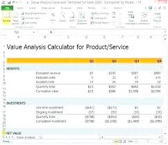 Excel Roi Template Project Calculator Excel Template Download Free Roi Test
