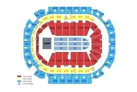 Air Canada Centre Seating Map